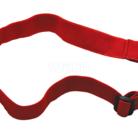 Baladeo PLR450 elastický pásek pro čelovku Orkanger, červený - 2