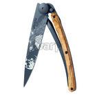 Deejo 1GB135 Black tattoo 37g, olive wood, howling - 1