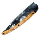 Deejo 1GB135 Black tattoo 37g, olive wood, howling - 3