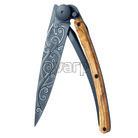 Deejo 1GB141 Black tattoo 37g, olive wood, pacific - 1