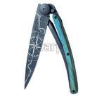 Deejo 1GB144 Black tattoo 37g, blue beech, Terra incognita - 1