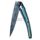 Deejo 1GB145 Black tattoo 37g, blue beech, Fish - 1
