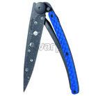 Deejo 1GC200 Composite Tattoo Black,Python 37g, blue carbon,Astro