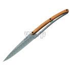 Deejo 2FB013 sada 6 steak nožů, matný povrch, olivové dřevo, design Geometry 7