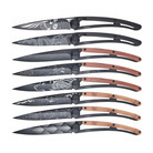 Deejo 8 Deejo black tattoo 37g complete collection knives