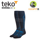 Teko 4702 MERINO.XC Light Ski men Charcoal/marine