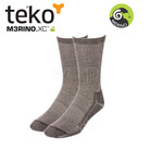 Teko 9904 MERINO.XC Midweight Hiking unisex brown