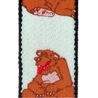 Tobby kšandy 30mm/80cm pro děti - grizzly 3