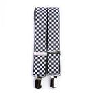 Tobby kšandy 36 mm pro dospělé - chess black-white - 2