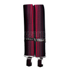 Tobby kšandy 36 mm pro dospělé - red stripe - 2