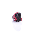 Warp flip-lock mechanismus FL-17 black-red alu, 14mm