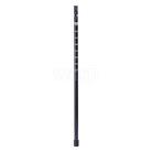 Warp střední díl holí černá/ALU 7075 pro hole 140cm