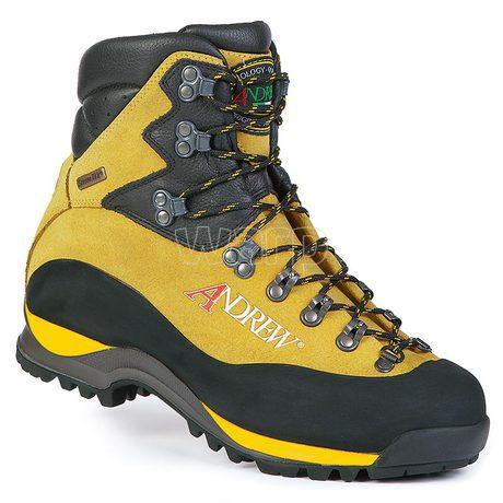 Andrew Nepal Trek Yellow