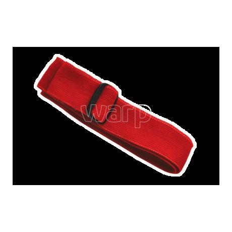 Baladeo PLR450 elastický pásek pro čelovku Orkanger, červený - 1