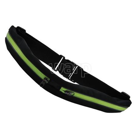Baladeo TRA066 Reflexní opasek Long run neonově žlutý 01