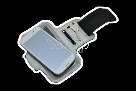 Baladeo TRA068 Trail sportovní náramek pro mobil, šedý - 4