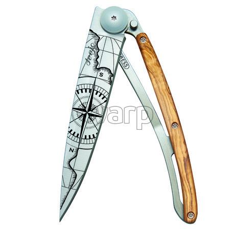 Deejo 1CB054 Tattoo 37g, olive wood, Terra incognita 1