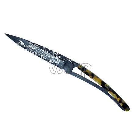 Deejo 1GC100 Tattoo Turtle  37g,black,turtle shell,Tiger - 1