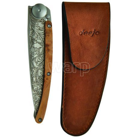 Deejo DEE504 kožené pouzdro pro nože 37g, natural - 6
