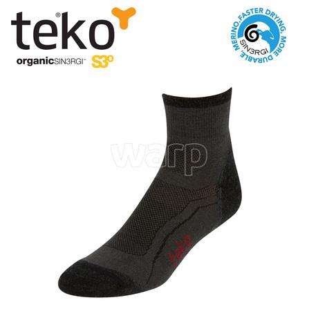 Teko 3003 S3O Midweight Minicrew unisex moonshadow/charcoal