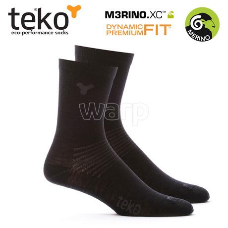 Teko 3601 M3RINO.XC 2páry Liner Crew unisex black 1
