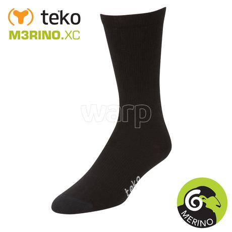 Teko 3601 M3RINO.XC 2páry Liner Crew unisex black
