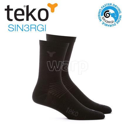 Teko 6601 SIN3RGI 2páry Liner Crew black