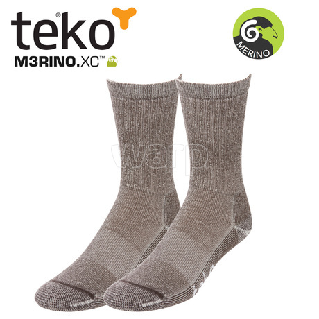 Teko 9933 MERINO.XC Light Hiking women brown