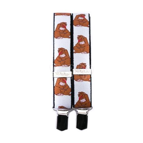 Tobby kšandy 30mm/80cm pro děti - grizzly 2