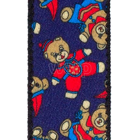 Tobby kšandy 30mm/80cm pro děti - toy bear blue 3