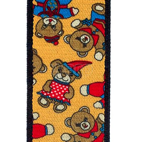 Tobby kšandy 30mm/80cm pro děti - toy bear brown 3