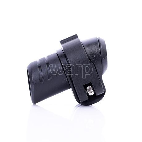 Warp flip-lock mechanismus FL-17 black alu wing,black reel, 16mm - 2