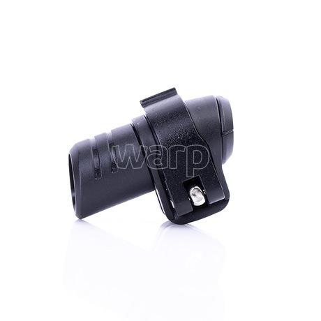 Warp flip-lock mechanismus FL-17 black alu wing,black reel, 18mm - 2