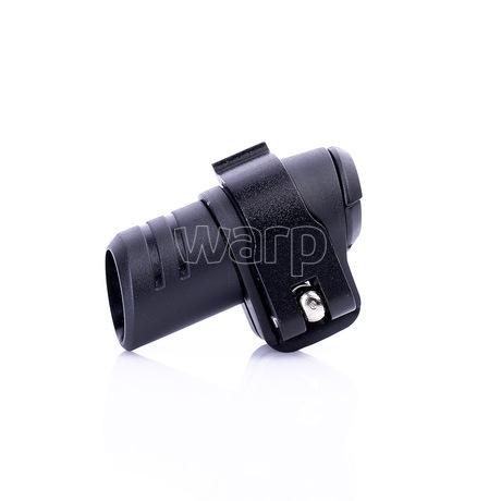 Warp flip-lock mechanismus FL-17 black alu wing,transparent reel, 16mm - 2