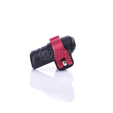 Warp flip-lock mechanismus FL-17 black-red alu, 14mm - 2