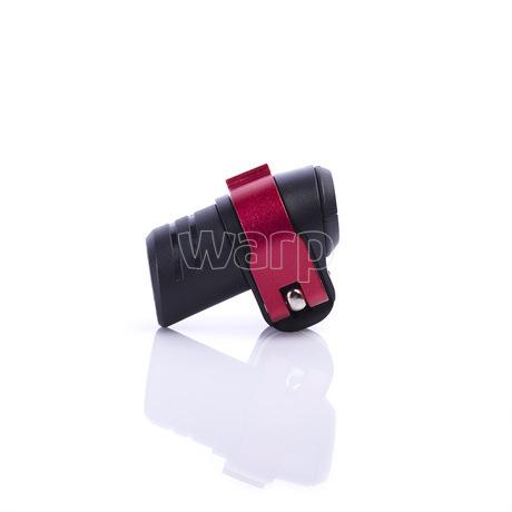 Warp flip-lock mechanismus FL-17 black-red alu, 18mm - 2