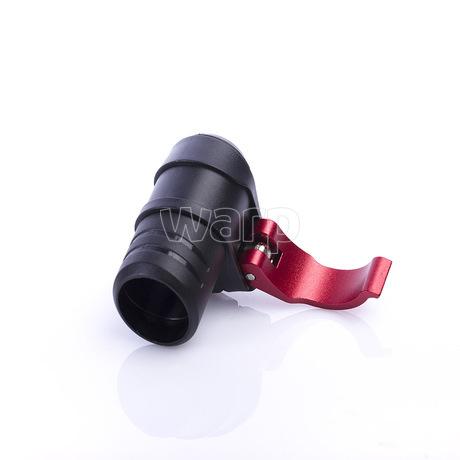Warp flip-lock mechanismus FL-17 black-red alu, 18mm - 3