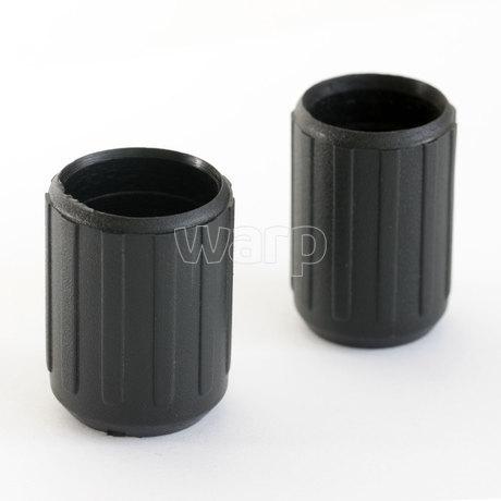 WARP plastová objímka 18 mm vysoká 30 mm, na snémku vlevo.