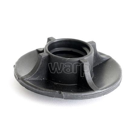 WARP talířek pro NW černý/plast průměr 38mm spodní pohled