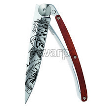 Deejo 1AB102 Tattoo Mirror 37g, coralwood, Jungle