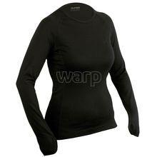 Duras Romana triko dámské černé dlouhý rukáv