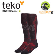 Teko 4702 MERINO.XC Light Ski men Charcoal/red