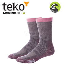 Teko 9944 MERINO.XC Midweight Hiking women cranberry