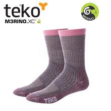 Teko 9944 MERINO.XC Midweight Hiking women cranberry