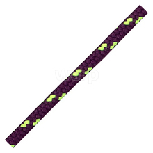 Tobby SP-02 aubergine/neon yellow