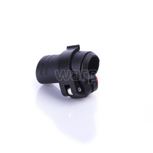 Warp flip-lock mechanismus FL-17 black-black, 16mm