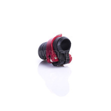 Warp flip-lock mechanismus FL-17 black-red alu, 16mm