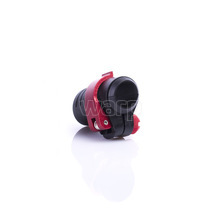 Warp flip-lock mechanismus FL-17 black-red alu, 18mm